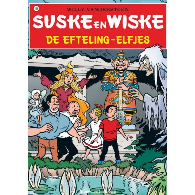 Puzzle PuzzelMan-280 Suske und Wiske: Die Elfen von Efteling