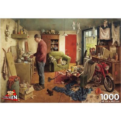 Puzzle PuzzelMan-297 Marius van Dokkum: Hausmann