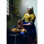 Puzzle  PuzzelMan-382 Vermeer Johannes: Die Milchhändlerin