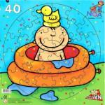 Puzzle  PuzzelMan-433 Im Bad