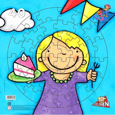 Puzzle PuzzelMan-436 Der Kuchen