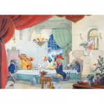 Puzzle  PuzzelMan-456 Marten Toonder - M. Bommel: Zu Tisch