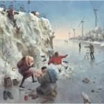 Puzzle  PuzzelMan-494 Marius van Dokkum: Schlittschuhe