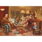 Puzzle  PuzzelMan-560 Marius van Dokkum: Die Familie