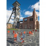 Puzzle  PuzzelMan-561 Belgien: Winterslag Bergwer in Genk
