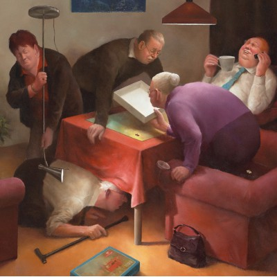 Puzzle PuzzelMan-583 Marius van Dokkum: der Fehlteil