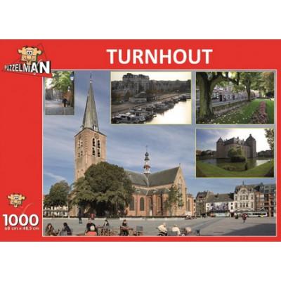 Puzzle PuzzelMan-647 Belgien: Turnhout