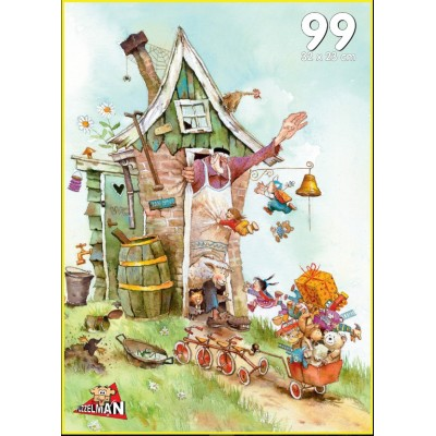 Puzzle PuzzelMan-727 Van Dokkum Marius: Grandpa John