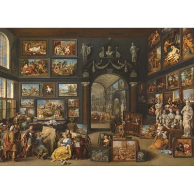Puzzle PuzzelMan-734 Willem van Haecht: Gemäldegalerie