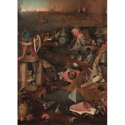 Puzzle PuzzelMan-767 Hieronymus Bosch: Das Jüngste Gericht