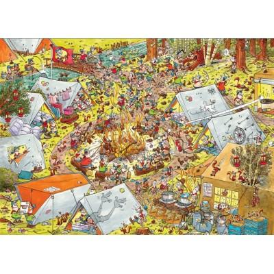 Puzzle PuzzelMan-791 Pfadfinder
