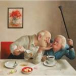 Puzzle  PuzzelMan-795 Marius van Dokkum - Meine Liebe