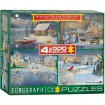 4 Puzzles - Sam Timm: Holiday Deluxe Puzzle Set