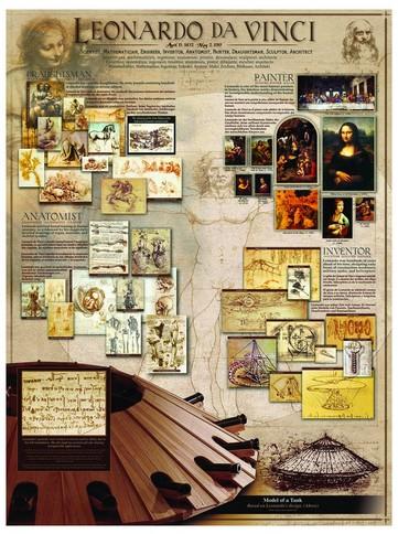 Puzzle Eurographics-6000-0084 Leonardo da Vinci