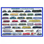 Puzzle  Eurographics-6000-0091 Lokomotiven