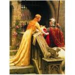 Puzzle  Eurographics-6000-0130 Edmund Blair Leighton: Gott sei mit dir