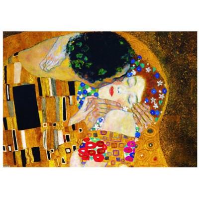 Puzzle Eurographics-6000-0142 Gustav Klimt: Der Kuss (Detail)