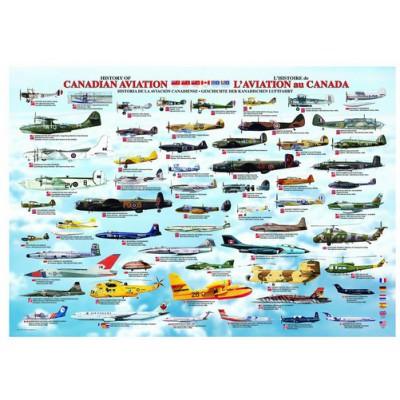 Puzzle Eurographics-6000-0231 Geschichte der Kanadischen Luftfahrt
