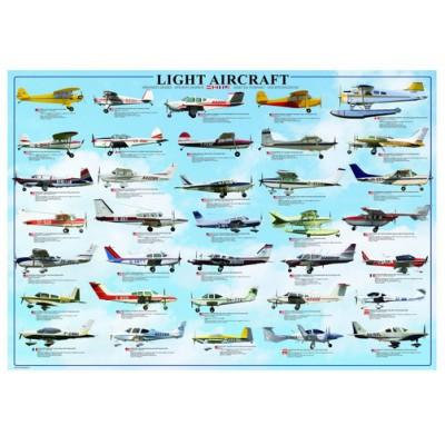 Puzzle Eurographics-6000-0238 Leichtflugzeuge
