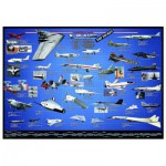 Puzzle  Eurographics-6000-0248 Amerikanische Fliegerei X-Planes