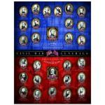 Puzzle  Eurographics-6000-0280 Generäle des Amerikanischen Bürgerkriegs