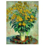 Puzzle  Eurographics-6000-0319 Claude Monet - Gartenkürbis Blumen