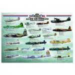 Puzzle  Eurographics-6000-0378 Alliierte Bomber aus dem 2. Weltkrieg