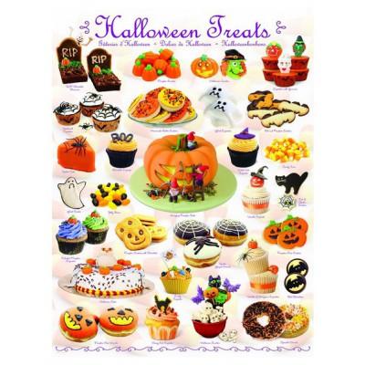 Puzzle Eurographics-6000-0432 Süßigkeiten zu Halloween