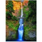 Puzzle  Eurographics-6000-0546 Multnomah Falls
