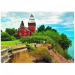 Puzzle  Eurographics-6000-0551 Big Bay Lighthouse