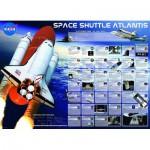 Puzzle  Eurographics-6000-0571 Missionen der Raumfähre Atlantis