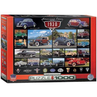 Puzzle Eurographics-6000-0674 Cruisin Classics - 1930's
