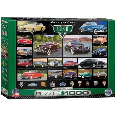 Puzzle Eurographics-6000-0675 Cruisin Classics - 1940's