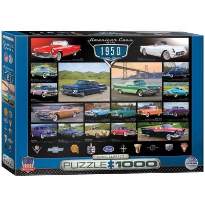 Puzzle Eurographics-6000-0676 Cruisin Classics - 1950's