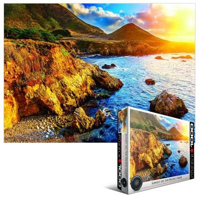 Puzzle Eurographics-6000-0691 Sonnenuntergang am Pazifik