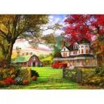 Puzzle  Eurographics-6000-0694 Dominic Davison: Die alte Kürbis-Farm