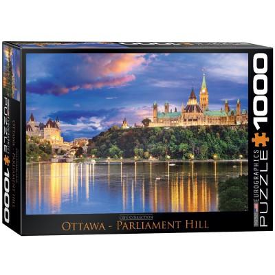 Puzzle Eurographics-6000-0739 Ottawa - Blick auf den Parliament Hill