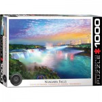 Puzzle  Eurographics-6000-0770 Globetrotter - Niagarafälle