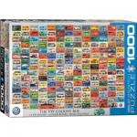 Puzzle  Eurographics-6000-0783 Bunte Bulli Welt
