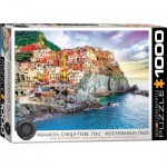 Puzzle  Eurographics-6000-0786 Cinque-Terre Manarola Italy