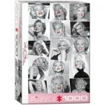 Puzzle  Eurographics-6000-0809 Marilyn Monroe