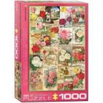 Puzzle  Eurographics-6000-0810 Rosen-Saatgutkatalog