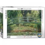 Puzzle  Eurographics-6000-0827 Claude Monet - Japanische Brücke