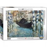 Puzzle  Eurographics-6000-0828 Edouard Manet - Le Grand Canal, Venedig