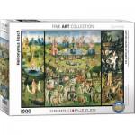 Puzzle  Eurographics-6000-0830 Jérôme Bosch: Der Garten der Lüste