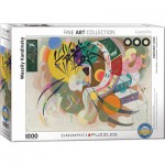 Puzzle  Eurographics-6000-0839 Wassily Kandinsky - Dominante Kurve