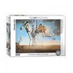 Puzzle  Eurographics-6000-0847 Salvador Dalí - Die Versuchung des heiligen Antonius