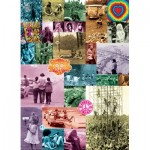 Puzzle  Eurographics-6000-0943 60s Love Collection