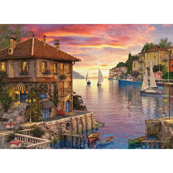 Dominic Davison - Mediterranean Harbor