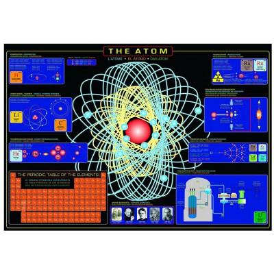 Puzzle Eurographics-6000-1002 Das Atom